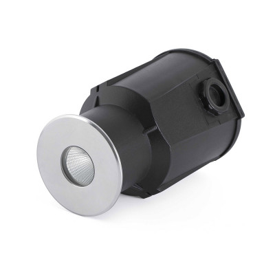 Faro - Outdoor - Tecno - Taro FA LED - Drivable recessed LED spotlight for outdoors - Stainless Steel -  - Warm white - 3000 K - 30°