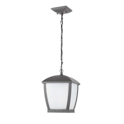 Faro - Outdoor - Wilma - Wilma SP L - Lantern suspension lamp for terraces big - Grey - LS-FR-75002