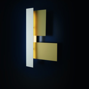 Foscarini - Fields - Fields-3 AP - Design wall light