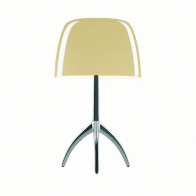 Foscarini - Lumiere - Lumiere TL L - Table lamp L with dimmer - Aluminum / warm white - LS-FO-026001R2-12