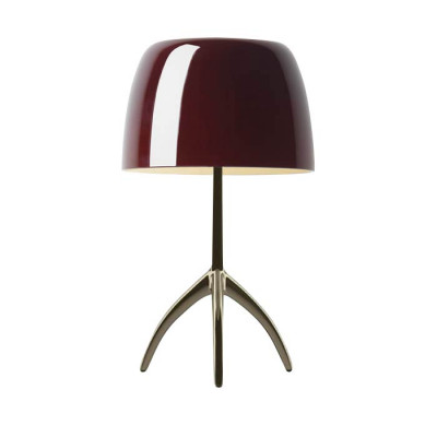 Foscarini - Lumiere - Lumiere TL L - Table lamp L with dimmer - Champagne / cherry - LS-FO-026021R2-62-D