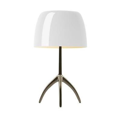 Foscarini - Lumiere - Lumiere TL L - Table lamp L with dimmer - Champagne / white - LS-FO-026021R2-11-D