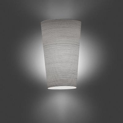 Foscarini - Mite - Kite AP - Nichel, cherry wood wall light - White/Black - LS-FO-1110051-20