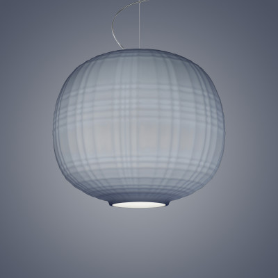 Foscarini - Tartan - Tartan SP - Design chandelier - Grey - LS-FO-273007E-24 - Super warm - 2700 K - Diffused