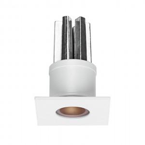 i-LèD - Decorative - Viky - Recessed wall spotlight Viky-Q - powerLED 2 W 630 mA - Round