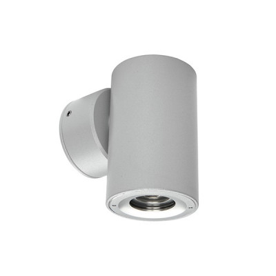 i-LèD - Outlet - Ophil Round - Single emission led wall applique - Aluminium grey - LS-SK-85380W70 - Warm white - 3000 K - 70°