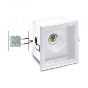 i-LèD - Outlet - Recessed ceiling spotlight Kerstin - Fixed optic antiglare led projector