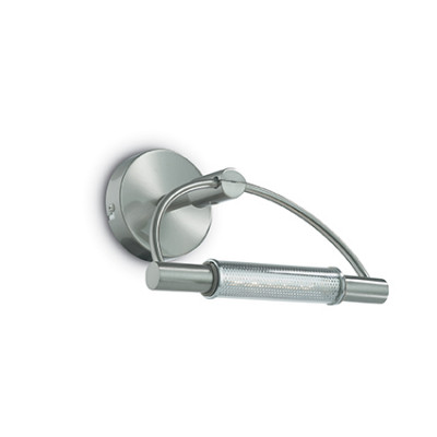 Ideal Lux - Bathroom - ARCO AP1 - Applique - Satin-finished nickel - LS-IL-008912