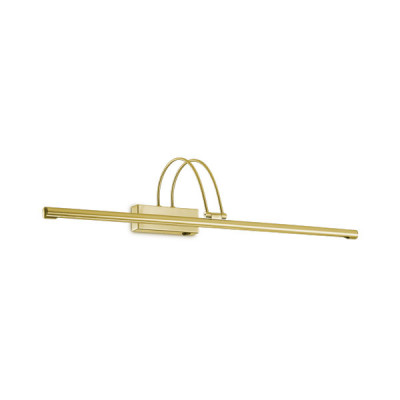 Ideal Lux - Bathroom - BOW AP114 - Applique - Satin brass - LS-IL-121130