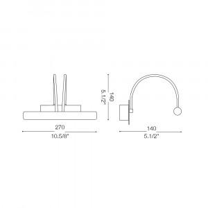 Ideal Lux - Bathroom - CICO AP2 - Applique