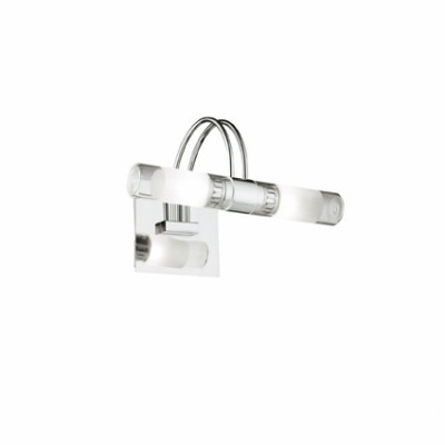 Ideal Lux - Bathroom - DOUBLE AP2 - Applique - Chrome - LS-IL-008851