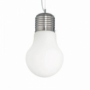 Ideal Lux - Bulb - LUCE Bianco SP1 BIG - Pendant lamp