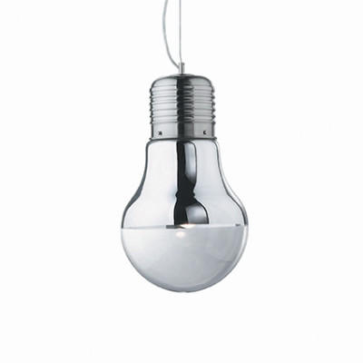 Ideal Lux - Bulb - LUCE Cromo SP1 BIG - Pendant lamp - Chrome - LS-IL-026749