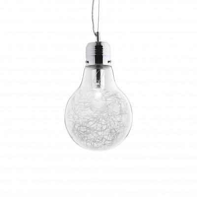 Ideal Lux - Bulb - LUCE MAX SP1 SMALL - Pendant lamp - Chrome - LS-IL-033679