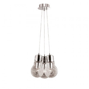 Ideal Lux - Bulb - Luce Max SP3 - Three-lights designer pendant lamp