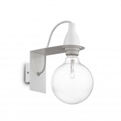 Ideal Lux - Bulb - MINIMAL AP1 - Wall lamp - White - LS-IL-045191