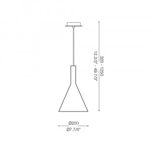Ideal Lux - Calice - COCKTAIL SP1 SMALL - Pendant lamp