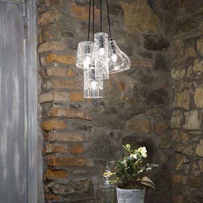 Ideal Lux - Calice - Cognac-4 SP1 - Pendant lamp