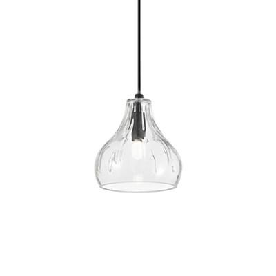 Ideal Lux - Calice - Cognac-4 SP1 - Pendant lamp - Transparent - LS-IL-167022