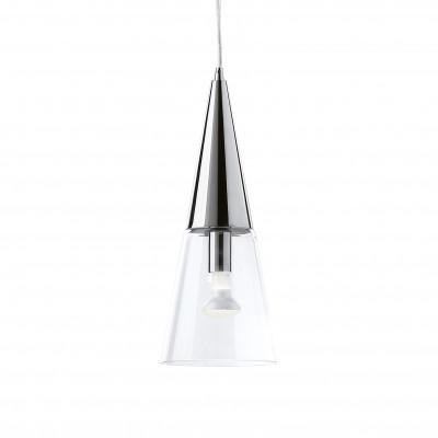 Ideal Lux - Calice - CONO SP1 - Pendant lamp - Chrome - LS-IL-017440