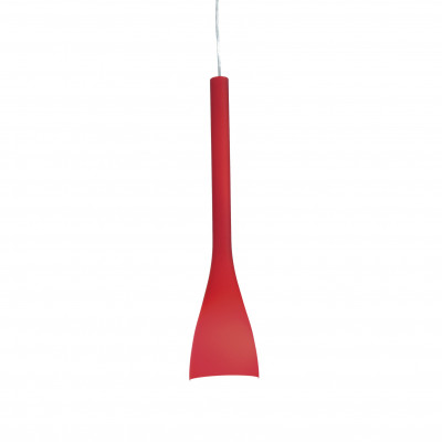 Ideal Lux - Calice - FLUT SP1 SMALL - Pendant lamp - Red - LS-IL-035703