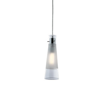 Ideal Lux - Calice - KUKY CLEAR SP1 - Pendant lamp - Transparent - LS-IL-023021