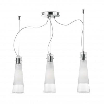Ideal Lux - Calice - KUKY CLEAR SP3 - Pendant lamp - Transparent - LS-IL-033952