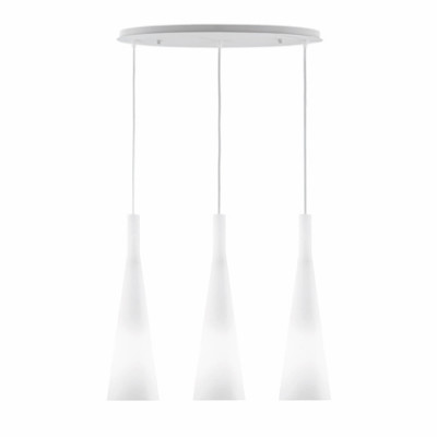 Ideal Lux - Calice - MILK SP3 - Pendant lamp - White - LS-IL-030326