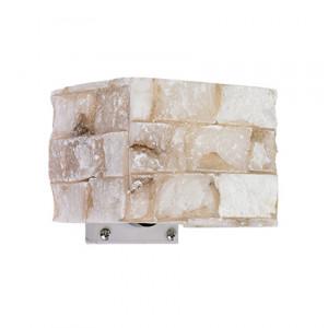Ideal Lux - Carrara - Carrara AP1 - Applique with alabaster diffuser