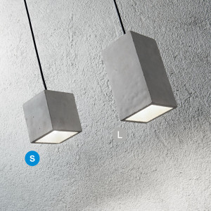 Ideal Lux - Cemento - Kool SP1 LED S - Modern concrete chandelier