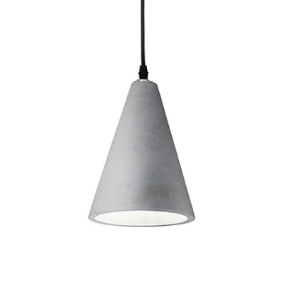 Ideal Lux - Cemento - Oil-2 SP1 - Pendant lamp - Cement - LS-IL-110424