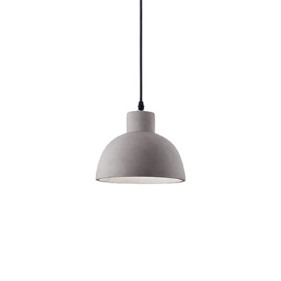 Ideal Lux - Cemento - Oil-5 SP1 - Pendant lamp - Cement - LS-IL-129082