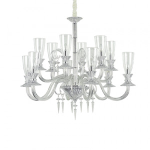 Ideal Lux - Chandelier - Beethoven SP12 - Pendant lamp