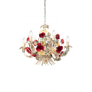 Ideal Lux - Chandelier - Camilla SP6 - Pendant lamp