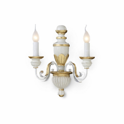 Ideal Lux - Chandelier - FIRENZE AP2 - Applique - Antique white - LS-IL-012902