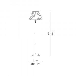 Ideal Lux - Chandelier - FIRENZE PT1 - Floor lamp