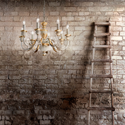 Ideal Lux - Chandelier - FIRENZE SP8 - Pendant lamp
