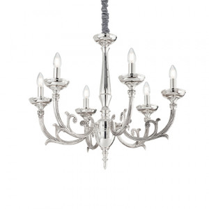 Ideal Lux - Chandelier - Lancelot SP6 - Pendant lamp