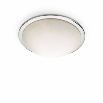 Ideal Lux - Circle - RING PL2 - Ceiling lamp - Chrome - LS-IL-045726