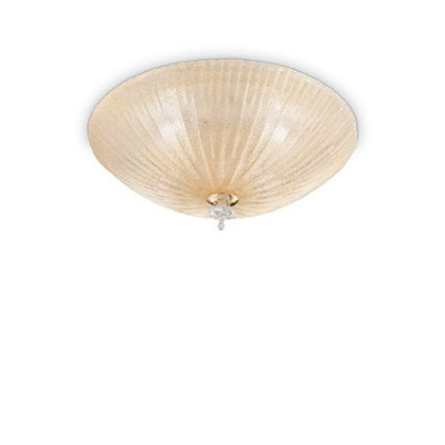 Ideal Lux - Circle - SHELL PL6 - Ceiling lamp - Amber - LS-IL-140193