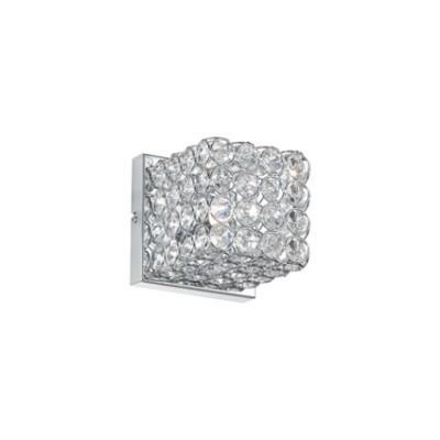 Ideal Lux - Diamonds - ADMIRAL AP1 - Wall lamp - Chrome - LS-IL-080284