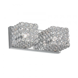 Ideal Lux - Diamonds - ADMIRAL AP2 - Wall lamp - Chrome - LS-IL-080857