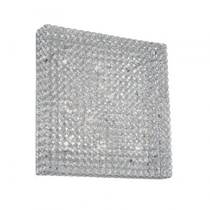Ideal Lux - Diamonds - ADMIRAL PL10 - Wall/Ceiling lamp - Chrome - LS-IL-080291