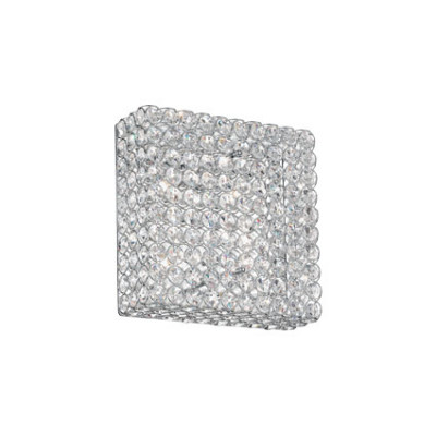Ideal Lux - Diamonds - ADMIRAL PL4 - Wall/Ceiling lamp - Chrome - LS-IL-080338