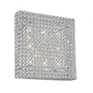 Ideal Lux - Diamonds - ADMIRAL PL8 - Wall/Ceiling lamp - Chrome - LS-IL-080352