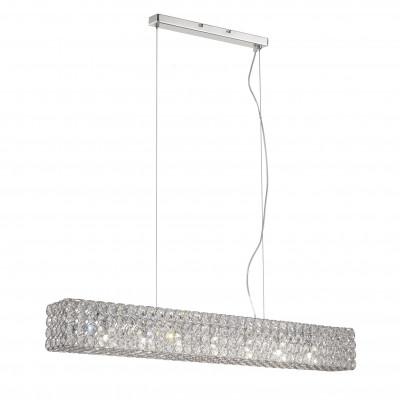 Ideal Lux - Diamonds - ADMIRAL SP7 - Pendant lamp - Chrome - LS-IL-080369