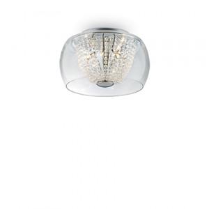 Ideal Lux - Diamonds - Audi-61 PL6 - Ceiling lamp - Chrome - LS-IL-133898