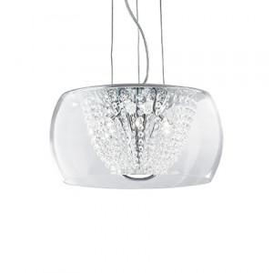 Ideal Lux - Diamonds - Audi-61 SP8 - Pendant lamp - Chrome - LS-IL-133881