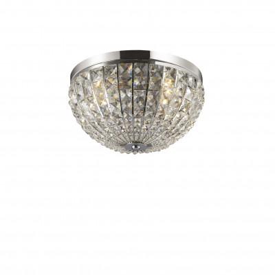 Ideal Lux - Diamonds - CALYPSO PL4 - Ceiling lamp - Chrome - LS-IL-066400