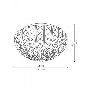 Ideal Lux - Diamonds - CALYPSO PL4 - Ceiling lamp